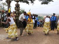 Cérémonie traditionnelle chez les Bassa