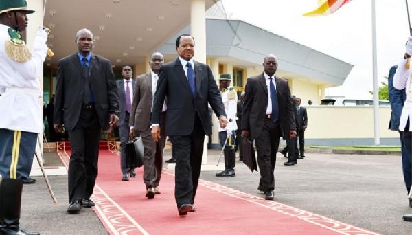 Le président camerounais, Paul Biya