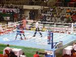 Sur un ring de boxe à Yaoundé