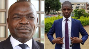 Amougou Belinga et Bruno Bidjang