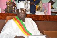 Cavaye Yeguié, le président réelu de l'Assemblée nationale