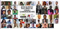 50 most influential young Cameroonians 2016 nominees #50MIYC