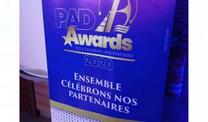 Un visuel des PAD Awards