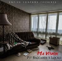 Couverture du single 'Ma Vision' par Baccardi feat Locko