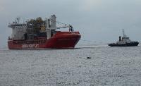 Accostage de navire au port
