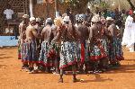 L'élite Bamendjou lors d'une rencontre culturelle