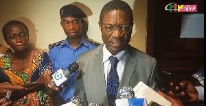 Messi Atangana, le maire de la ville de Yaoundé