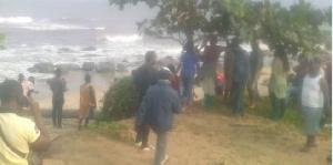 Le corps sans vie de la victime a été retrouvé sur la plage de Ngoyè
