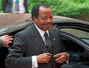 Paul Biya à la tête d