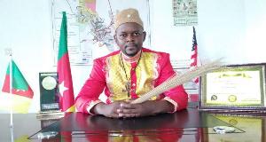Sylvain M. Tjock, maire d'Esseka