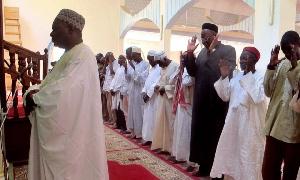 Les musulmans en prière