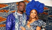 Coco Emilia Mvemba et son mari