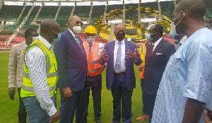 Le président de la CAF se prononce sur le stade Olembe