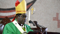 Mgr Jean Mbarga est archevêque de Yaoundé