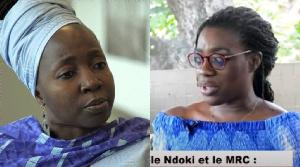 Kah Walla et Michelle Ndoki