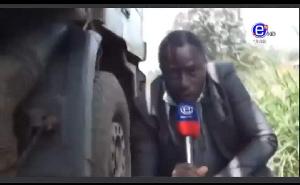 Equinoxe Tv filme l'attaque violente de Dion Ngute