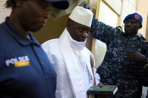Lancien President Gambien Yahya Jammeh
