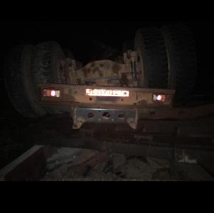 Camion renversé sur la nationale 3