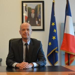L'ambassadeur français Christophe Guilhou