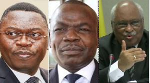 Ferdinand Ngoh Ngoh, Amougou Belinga et Laurent Esso