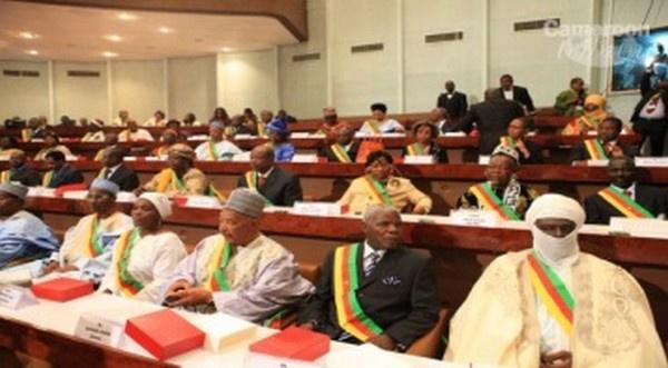 Des députés camerounais