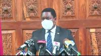 Kenya's High Commissioner to the United Republic of Tanzania, Dan Kazungu