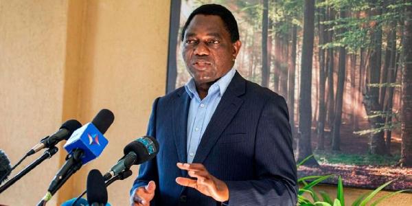 Hichilema a promis de renforcer les agences d'enquête