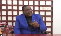 Paul Eric Kingué, président du parti MPCN