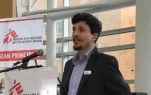Stephen Cornish, le Directeur de Médecins Sans Frontières