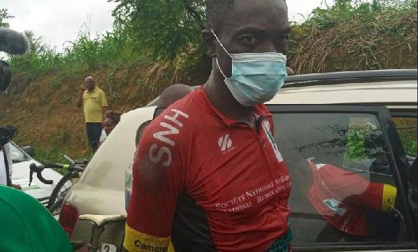 Yaou Gadji, le coureur de SNH vélo club