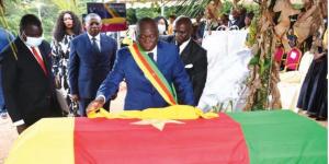 Hommage à la député Salomé Ngaba Zogo
