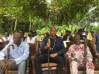 Colère des habitants du village d'Amobe Mevegue