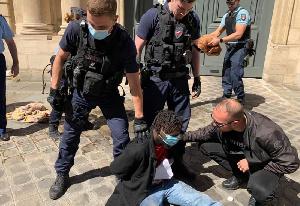 Calibri Calibro lors de son arrestation