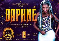 Daphne en concert au Katios Night Club