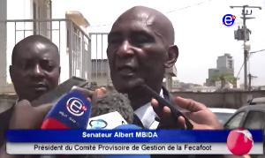 Albert Mbida, président du comité provisoire de gestion de la Fecafoot