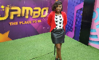 Kelly White, animatrice sur Jambo Tv