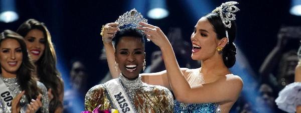 La plus belle fille du monde est sud-africaine