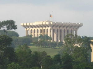 Le palais de l'Unité à Etoudi