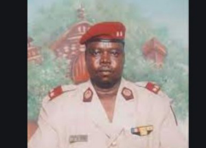 Le général Ahmat Koussou Moursal