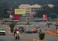 Le centre ville de Bafoussam