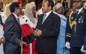 Paul Biya et Jean Nkuete