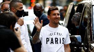 Lionel Messi à Paris