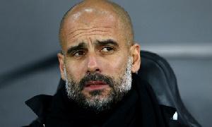 Manchester City Head Coach, Pep Guardiola