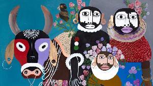 ses toiles d'inspiration bovine atteignent aujourd'hui le triple de leur prix d'achat