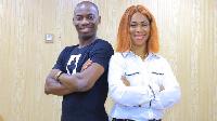 Le général Makosso et sa femme