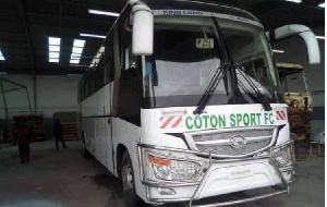 Le nouveau bus de Coton Sport