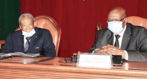 Le président du sénat et ses collègues ont donné leur accord