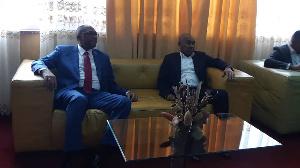Une délégation de la CAF séjourne au Cameroun