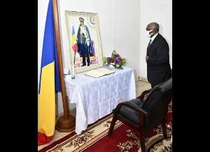 Mbella Mbella  s'est rendu à l'Ambassade du Tchad à Yaoundé