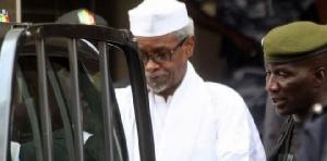 Hissène Habré,  l'ancien président tchadien